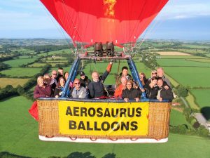 Early Morning Hot Air Balloon Ride From Shaftesbury