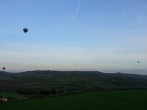 Cornwall Sunset Balloon Flights