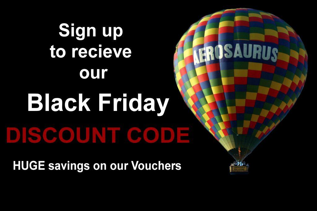 Aerosaurus Balloons Black Friday Offer
