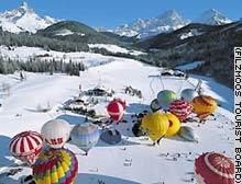 Winter Ballooning