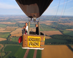 exclusive balloon flight with dee shapland