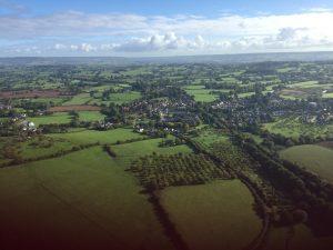 Views of Devon countryside