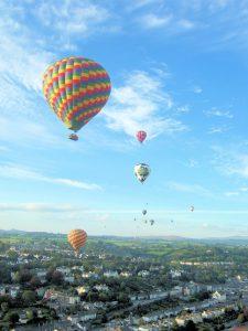 Balloon flights in Devon