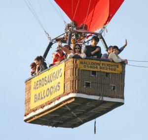 Half Term Balloon Flights