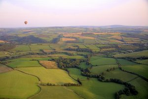 Ballooning in Devon