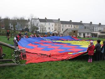 Hot Air Ballooning Display