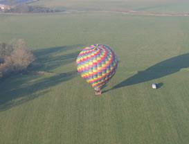 spring hot air balloon flights