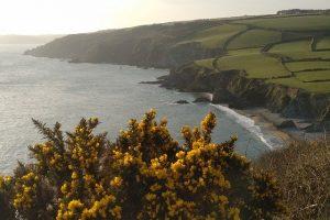 south west england coastline