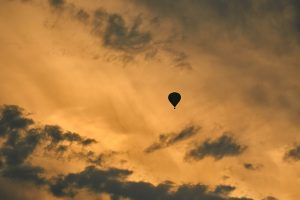sunset balloon ride don piccard