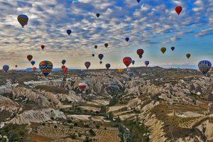 balloon flight in cappadocia turkey